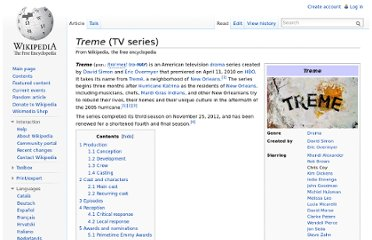 http://en.wikipedia.org/wiki/Treme_(TV_series)
