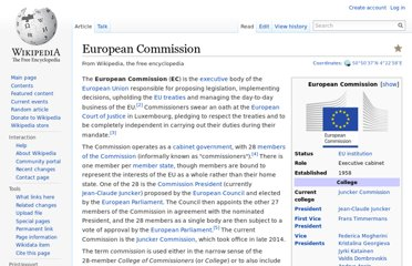 http://en.wikipedia.org/wiki/European_Commission