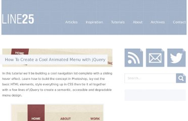 http://line25.com/tutorials/how-to-create-a-cool-animated-menu-with-jquery