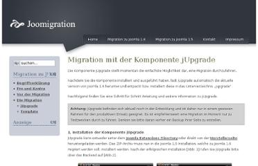 http://www.joomigration.de/index.php?option=com_content&view=article&id=95:migration-mit-der-komponente-jupgrade&catid=44&Itemid=82