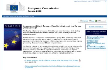 http://ec.europa.eu/resource-efficient-europe/