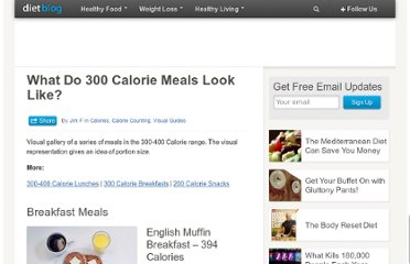 http://www.diet-blog.com/07/what_do_300_calorie_meals_look_like.php