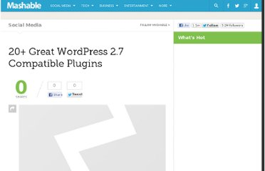 http://mashable.com/2008/12/11/wordpress-27-plugins/