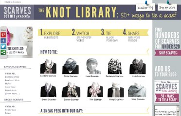 http://www.scarves.net/how-to-tie-a-scarf/
