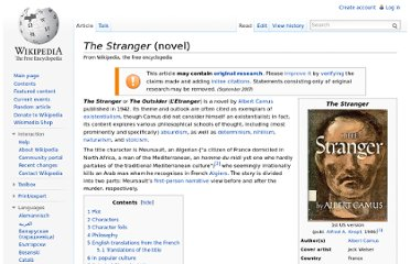 http://en.wikipedia.org/wiki/The_Stranger_(novel)