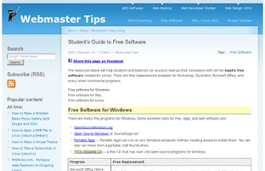 http://tips.webdesign10.com/students-guide-free-software