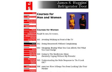 http://www.jamesshuggins.com/h/hum1/courses_men_women.htm