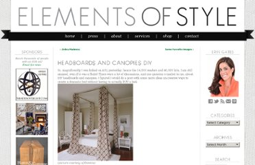 http://www.elementsofstyleblog.com/2007/12/headboards-and-canopies-diy.html