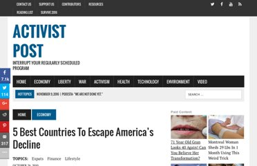 http://www.activistpost.com/2010/10/5-best-countries-to-escape-americas.html