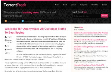 http://torrentfreak.com/wikileaks-isp-anonymizes-all-customer-traffic-to-beat-spying-110127/