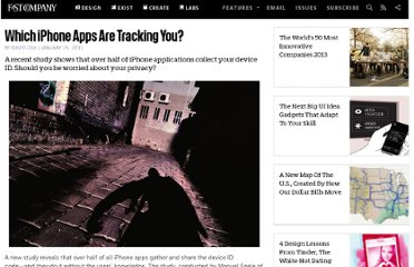 http://www.fastcompany.com/1720580/which-iphone-apps-are-tracking-you