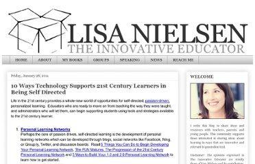 http://theinnovativeeducator.blogspot.com/2011/01/10-ways-technology-supports-21st.html