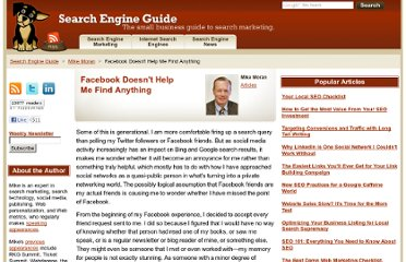 http://www.searchengineguide.com/mike-moran/facebook-doesnt-help-me-find-anything.php