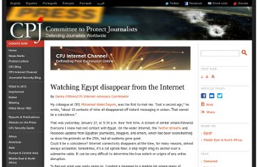 http://cpj.org/internet/2011/01/watching-egypt-disappear-from-the-internet.php