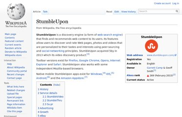 http://en.wikipedia.org/wiki/StumbleUpon