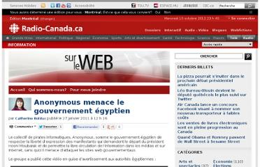 http://blogues.radio-canada.ca/surleweb/2011/01/27/anonymous-menace-le-gouvernement-egyptien/