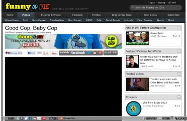http://www.funnyordie.com/videos/33f2687080/good-cop-baby-cop-from-will-ferrell-and-adam-ghost-panther-mckay