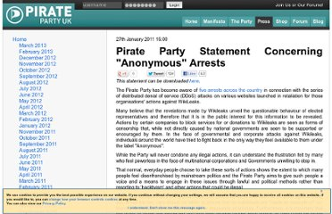 http://www.pirateparty.org.uk/press/releases/2011/jan/27/pirate-party-statement-concerning-anonymous-arrest/