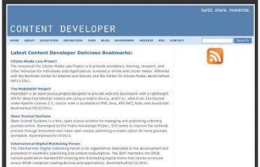 http://contentdeveloper.com/bookmarks/