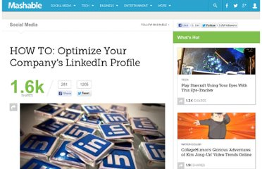 http://mashable.com/2011/01/28/optimize-linkedin-company-profile/