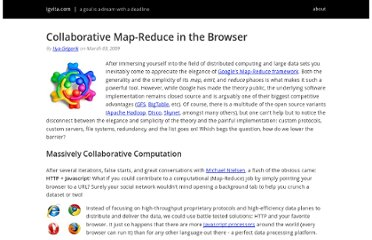 http://www.igvita.com/2009/03/03/collaborative-map-reduce-in-the-browser/