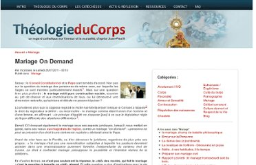 http://www.theologieducorps.fr/actualites/2011/01/mariage-on-demand