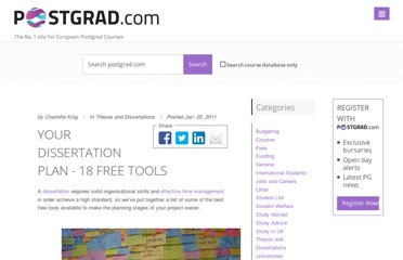 http://www.postgrad.com/blog/your-dissertation-plan/