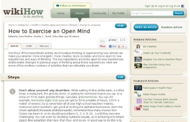 http://www.wikihow.com/Exercise-an-Open-Mind
