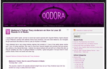 http://www.oodora.com/fitness/fat-loss-and-cellulite/madonnas-trainer-tracy-anderson-on-how-to-lose-20-pounds-in-6-weeks.html