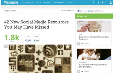 http://mashable.com/2011/01/29/new-social-media-resources-17/