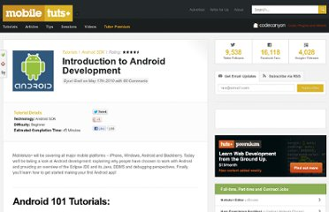 http://mobile.tutsplus.com/tutorials/android/introduction-to-android-development/