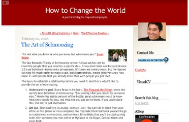 http://blog.guykawasaki.com/2006/02/the_art_of_schm.html