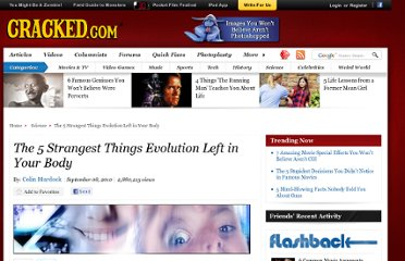 http://www.cracked.com/article_18723_the-5-strangest-things-evolution-left-in-your-body.html