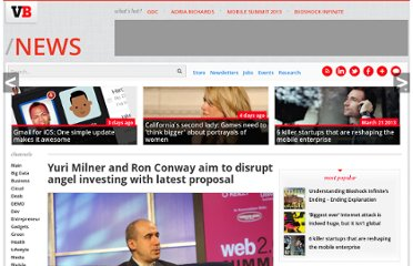 http://venturebeat.com/2011/01/29/yuri-milner-and-ron-conway-aim-to-disrupt-angel-investing-with-latest-proposal/