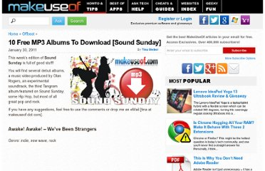 http://www.makeuseof.com/tag/10-free-mp3-albums-download-sound-sunday-23/