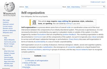 http://en.wikipedia.org/wiki/Self-organization