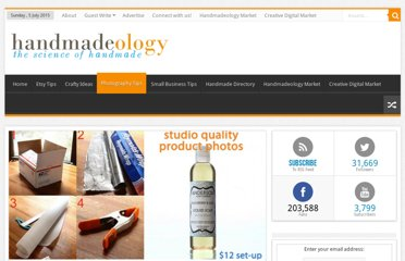http://www.handmadeology.com/studio-quality-product-photography-with-a-12-set-up/