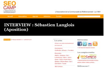 http://www.seo-camp.org/interview-sebastien-langlois-aposition-1892