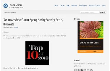 http://loianegroner.com/2010/12/top-10-articles-of-2010-spring-spring-security-ext-js-hibernate/