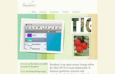 http://seashore.sourceforge.net/The_Seashore_Project/About.html