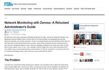 http://www.freesoftwaremagazine.com/books/network_monitoring_with_zenoss