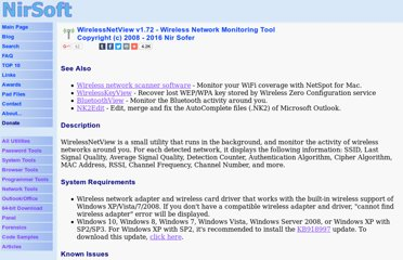 http://www.nirsoft.net/utils/wireless_network_view.html