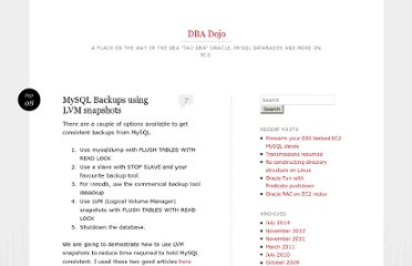 http://blog.dbadojo.com/2007/09/mysql-backups-using-lvm-snapshots.html