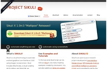 http://groups.csail.mit.edu/uid/sikuli/#