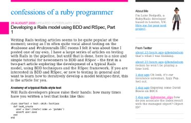 http://lukeredpath.co.uk/blog/developing-a-rails-model-using-bdd-and-rspec-part-1.html