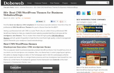 http://dobeweb.com/2010/80-best-cms-wordpress-themes-for-business-websitesblogs.html