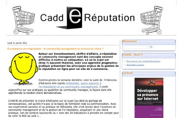 http://caddereputation.over-blog.com/article-e-commerce-et-e-reputation-le-community-management-au-service-du-client-66154526.html