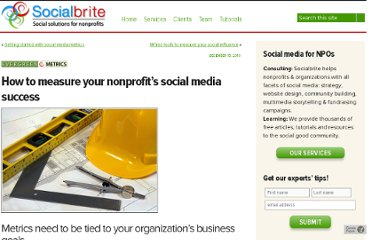 http://www.socialbrite.org/2010/12/15/how-to-measure-your-nonprofits-social-media-success/