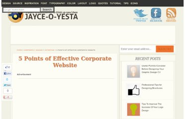 http://jayce-o.blogspot.com/2011/01/5-points-of-effective-corporate-website.html