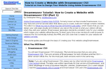http://www.thesitewizard.com/gettingstarted/dreamweaver1.shtml